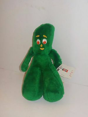 """Vintage Fun Ace Novelty GUMBY 10"""" Plush Toy"""