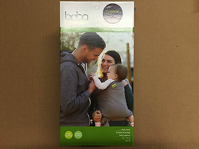 Boba Baby Wrap Baby Carrier Dark Gray One Size 0-36 Months 7-35 lbs. NIB
