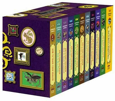 How to Train Your Dragon: Paperback Gift Set 2 by Cressida Cowell (2014,...