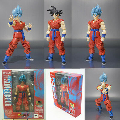 Dragon Ball Z SHFiguarts Super Saiyan God SS Son Goku Gokou Action Figure toy A