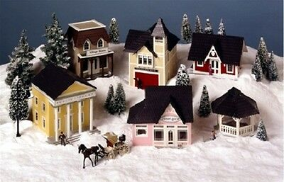 Dollhouse Kit  - 1/4 inch scale - Miniature Greenleaf Town - VK8108