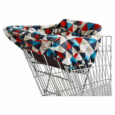 Skip Hop Grocery Cart Cover Multi-colored, MSRP $24.99