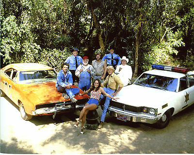 Dukes Of Hazzard Catherine Bach Tom Wopat John Schneider 8x10 Picture Print