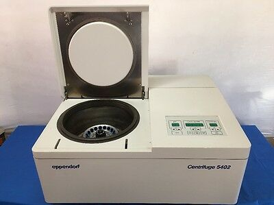 Eppendorf 5402 Refrigerated Centrifuge w/ 18-position F-45-18-11 Rotor