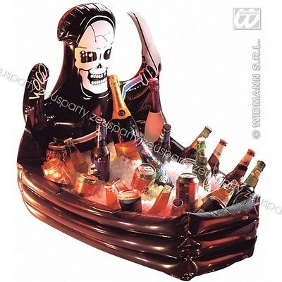 halloween inflatable skeleton bara tomb drinks cooler 2388b