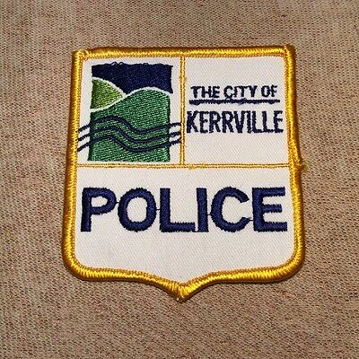 TX Kerrville Texas Police Patch
