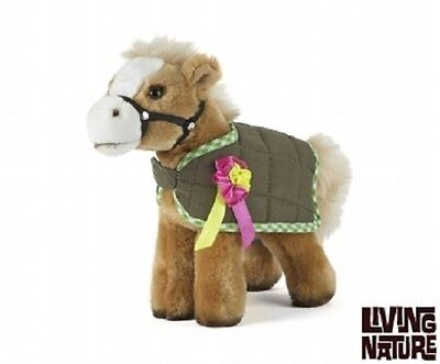 Living Nature Cuddly Horse with jacket ( cuddly pony gift equestrian )