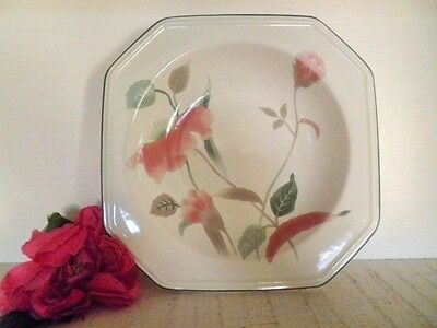 RETRO SOUP BOWL MIKASA SILK FLOWERS F3003 see MORE LISTED