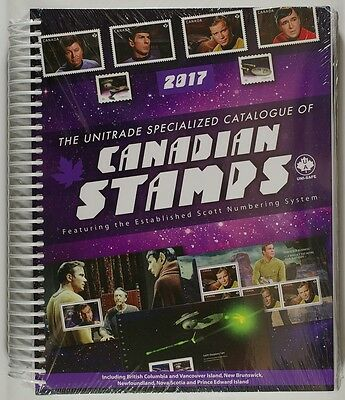 Unitrade Catalogue of Canadian Stamps 2017 FREE EXPEDITED SHIPPING!  C$48.95
