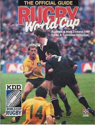 Rugby World Cup 1987 Official Guide