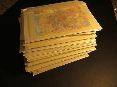 62+ Sets 1980s Great Britain  PHQ Cards - Just Removed from New Issue Service Pk