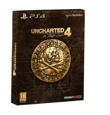Uncharted 4: A Thief's End: Special Edition (PS4) Adventure Fast and FREE P & P