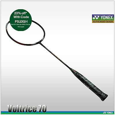 YONEX BADMINTON RACQUET - Voltric 70 - VT 70 - MADE IN JAPAN - FREE STRINGING