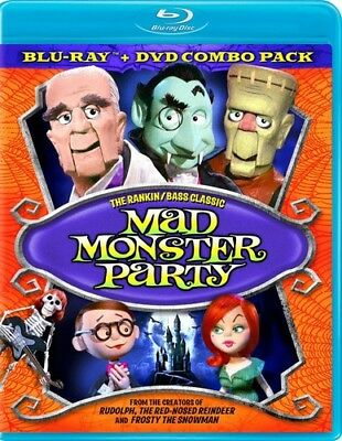 Mad Monster Party [New Blu-ray] With DVD, Full Frame, Subtitled, Dolby