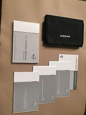 2013 Nissan Altima  COMPLETE OWNERS MANUAL BOOKS