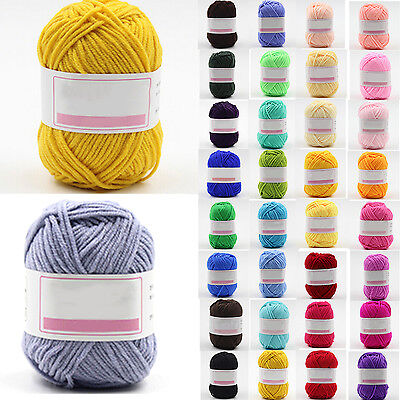 Wholesale! popular color Super Soft Natural Smooth Bamboo Cotton Knitting Yarn S
