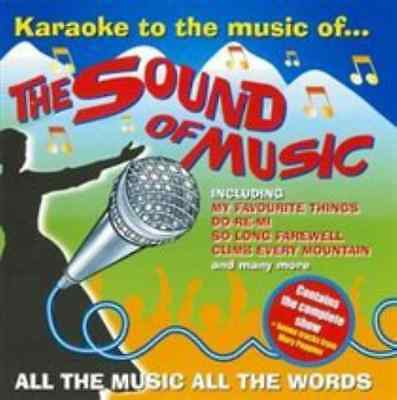 Karaoke to the Sound of Music  CD NEW
