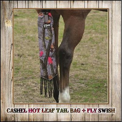 Cashel Elite Tail Bag Fly With Fringe Tassel~Keeps The Tail Clean!~Hot Leaf Camo