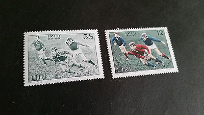 Ireland 1974 Sg 363-364 Cent Of Rugby Football. Mnh