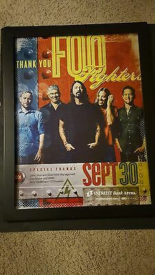 Foo Fighters Rare Original Intrust Arena Wichita Kansas Concert Poster!