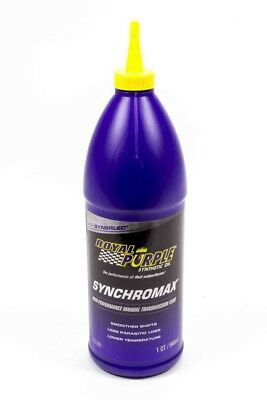 Royal Purple Synchromax Manual Transmission Fluid 1 qt P/N 01512