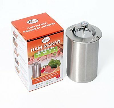 Ham Maker, Stainless Steel Press Meat Cooker for Making Healthy Homemade Deli or