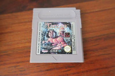 TARZAN  LORD OF THE JUNGLE            -----   pour GAME BOY