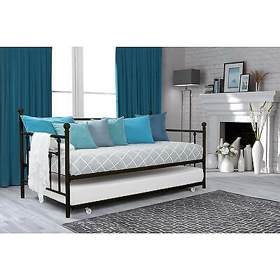DHP Manila Bronze Twin Daybed and Trundle Set