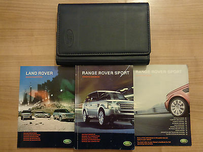 Range Rover Sport Owners Handbook/Manual and Pack 05-09