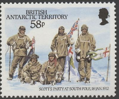 British Antarctic Territory  #137-140  Mint Never Hinged Complete Set  ( 4 )