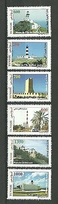 2013/2014 -Tunisia - Lighthouses - Issue 2013 with issue 2014