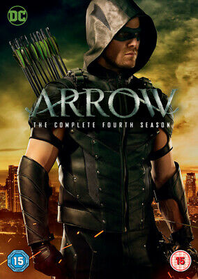 Arrow: The Complete Fourth Season DVD (2016) Stephen Amell cert 15 5 discs