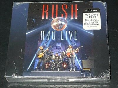 (SPECIAL OFFER) R40 Live by Rush 3CD Set