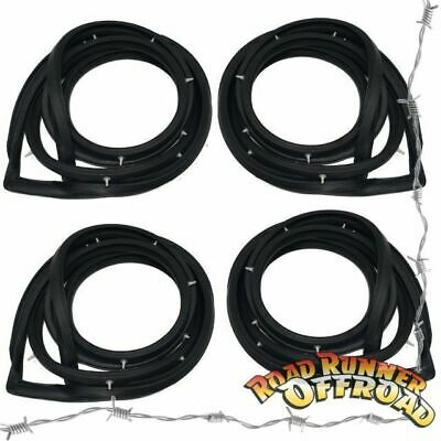 GQ Nissan Patrol Maverick DA 1987 to 1998 Full Door Seal kit 4 pce Rubber