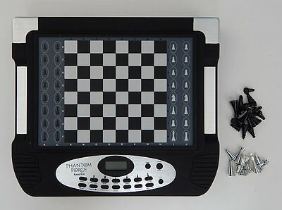 Phantom Force Excalibur Working Electronic Chess Game R10869