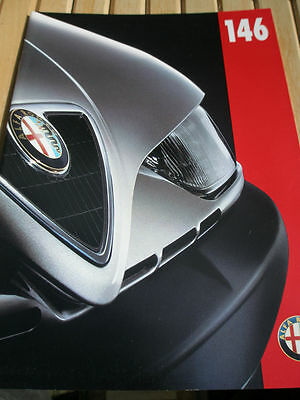 Alfa Romeo 146 range brochure Jun 1998