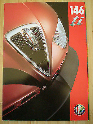 Alfa Romeo 146 ti brochure Feb 1996