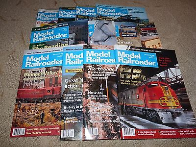1994 All 12 Issues MODEL RAILROADER Magazines Full Year