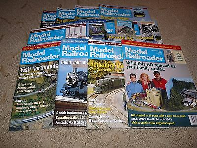 1997 All 12 Issues MODEL RAILROADER Magazines Full Year