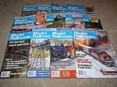 1995 All 12 Issues MODEL RAILROADER Magazines Full Year