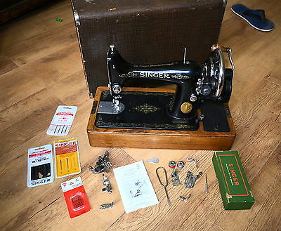 IMMACULATE Singer 99K SEMI-INDUSTRIAL Machine( IDEAL FOR HEAVIER MATERIALS)