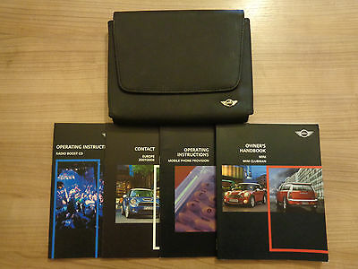 Mini Mini Clubman Owners Handbook/Manual and Wallet 07-10