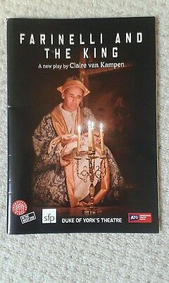 Farinelli And The King Duke Of York's Theatre Programme