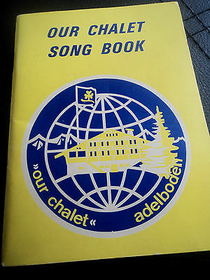 Girl Guide Book - Our Chalet Song Book  - Adelboden