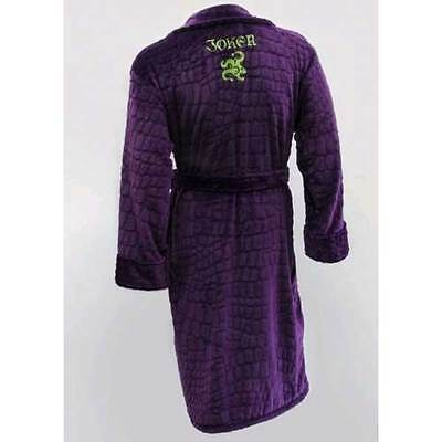 Suicide Squad - Joker Purple Hoodless Robe NEW Groovy
