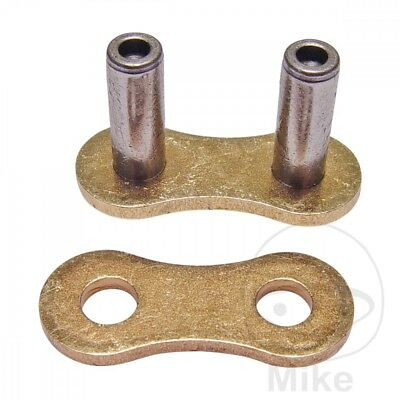 DID Hollow Rivet Soft Link For Motorcycle Chain Gold & Black 520DZ2 G&B520DZ2