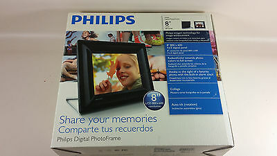 "Philips 8FF2FPB 8"" Digital Picture Frame"
