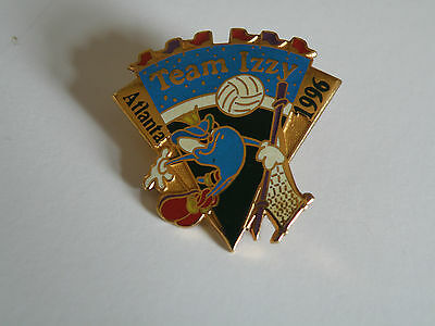 Atlanta Olympic Games 1996 Team Izzy Volleyball Pin
