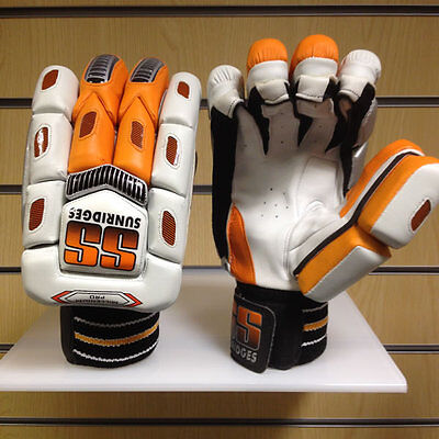 *NEW* SS MILLENNIUM PRO CRICKET BATTING GLOVES, Mens Right Handed