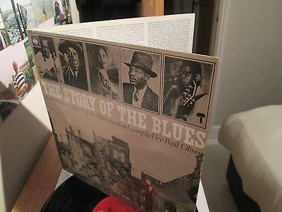 The Story Of The Blues Double Vinyl Lp Excellent Condition